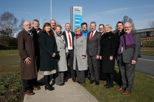 Sandyford Business District Signage Launch
