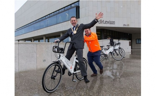 BleeperBike station-less bike-sharing comes to Sandyford