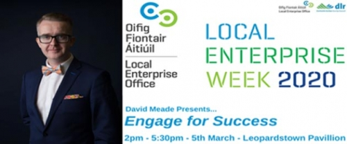 David Meade - Local Enterprise Week 2020
